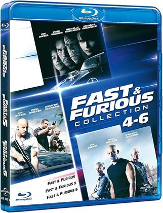 Fast & Furious 4-6 - (Family Collection) (3 Blu-rays)
