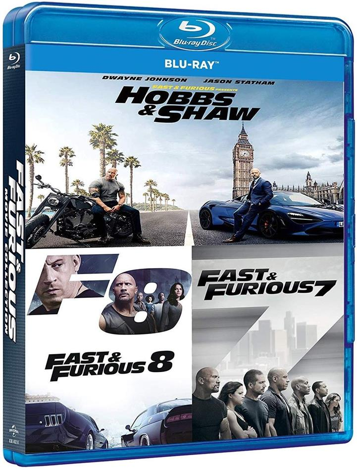 Fast & Furious: Hobbs & Shaw Collection (3 Blu-ray)