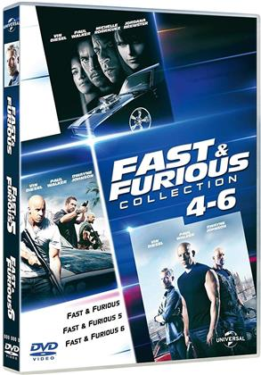 Fast & Furious 4-6 - (Family Collection) (3 DVDs)