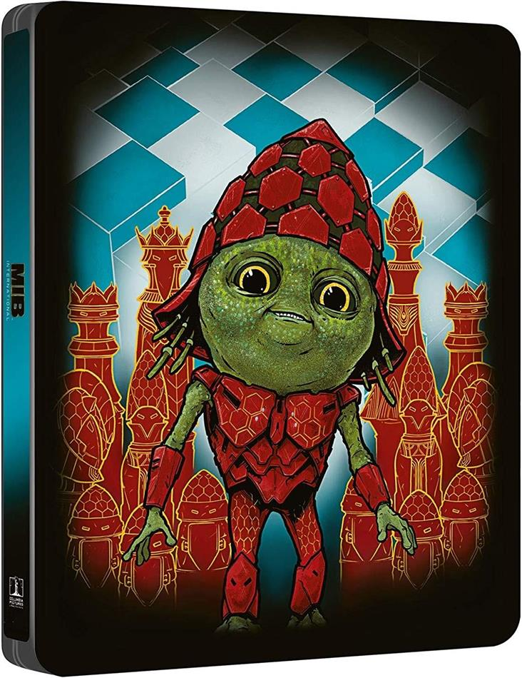 Men in Black: International (2019) (Steelbook, 4K Ultra HD + Blu-ray)