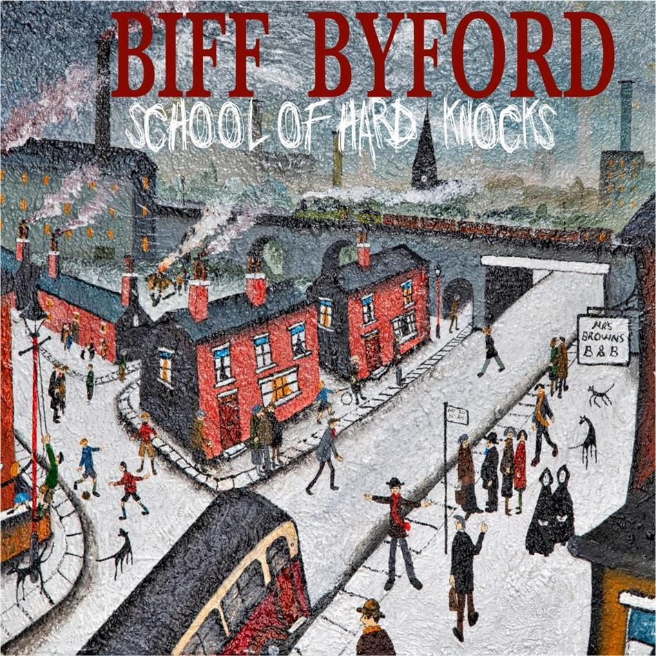 Biff Byford (Saxon) - School of Hard Knocks (Gatefold, LP)