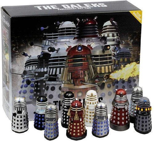 Doctor Who - Dr. Who Mega Figurines - Dalek Parliament Part 2