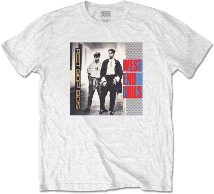 Pet Shop Boys Unisex Tee - West End Girls