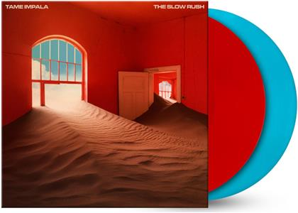 Tame Impala - The Slow Rush (Exclusive Edition, Gatefold, Limited Edition, Red & Light Blue Vinyl, 2 LPs)