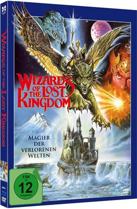 Wizards of the Lost Kingdom - Magier der verlorenen Welten (1985) (Edizione Limitata, Mediabook, Blu-ray + DVD)