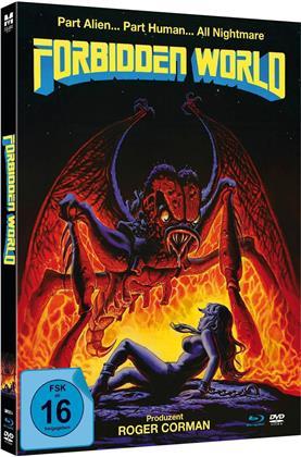 Forbidden World (1982) (Limited Edition, Mediabook, Blu-ray + DVD)