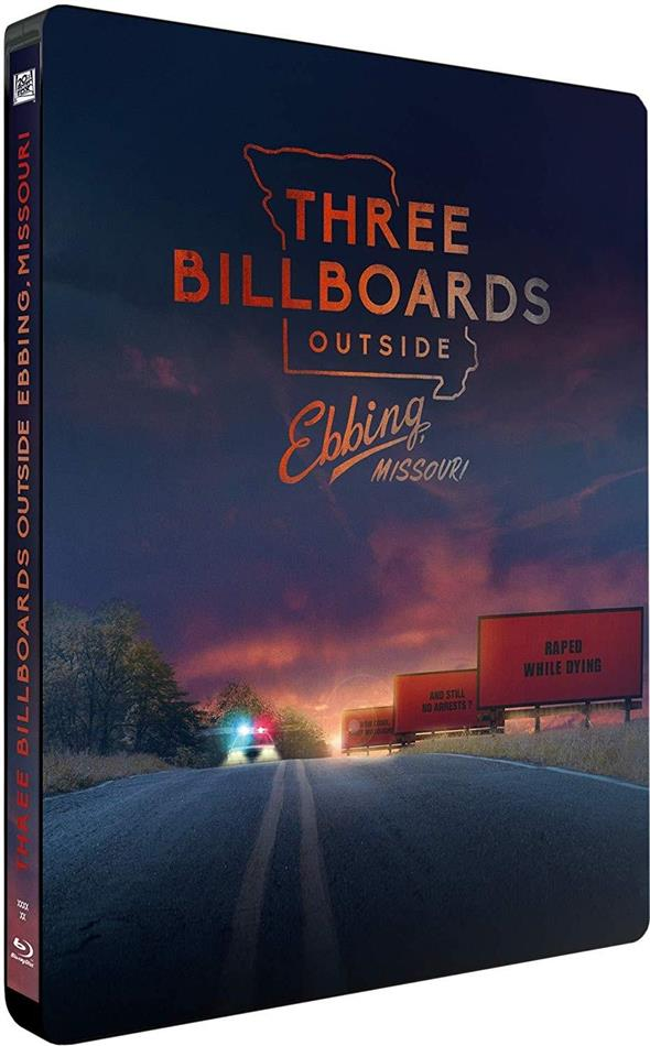 Three Billboards Outside Ebbing, Missouri (2017) (Limited Edition, Steelbook)