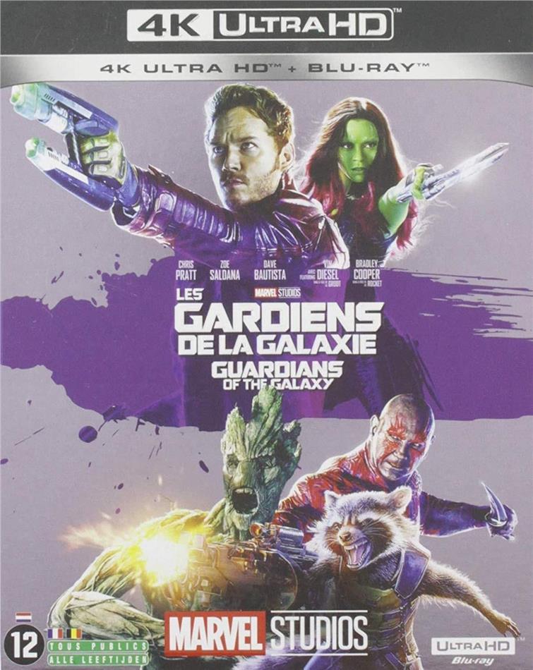 Les Gardiens de la Galaxie (2014) (4K Ultra HD + Blu-ray)