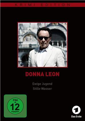 Donna Leon - Ewige Jugend / Stille Wasser (Krimi Edition)