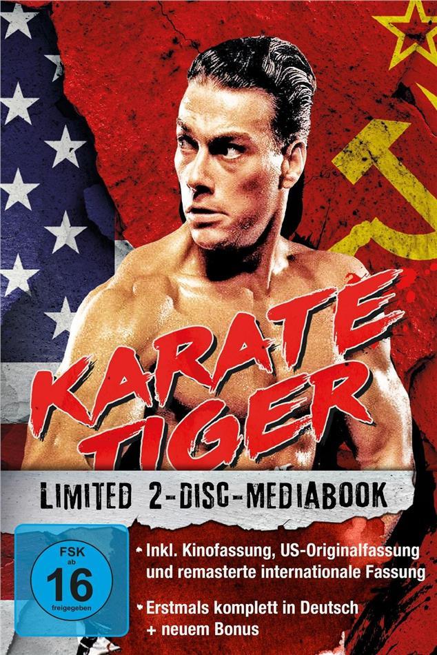 Karate Tiger (1986) (Edizione Limitata, Mediabook, 2 Blu-ray)