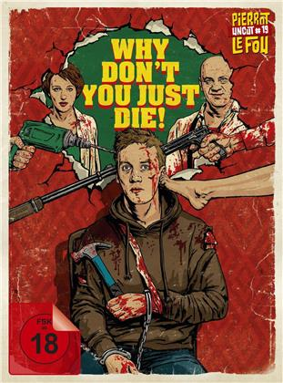 Why Don't You Just Die! (2018) (Limited Edition, Mediabook, Uncut, Blu-ray + DVD)
