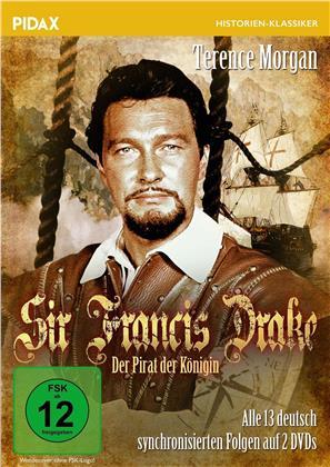 Sir Francis Drake - Der Pirat der Königin - Alle 13 deutsch synchronisierten Folgen der Abenteuerserie (1961) (Pidax Historien-Klassiker, 2 DVDs)