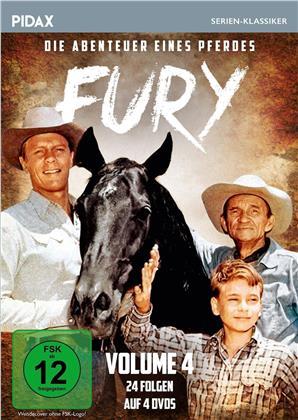 Fury - Die Abenteuer eines Pferdes - Vol. 4 (Pidax Serien-Klassiker, 4 DVDs)