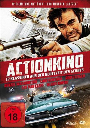 Actionkino - 12 Klassiker aus der Blütezeit des Genres (4 DVDs)