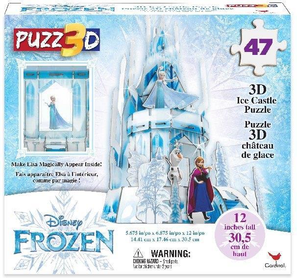 Frozen 2: Ice Palace - 47 Teile 3D Puzzle