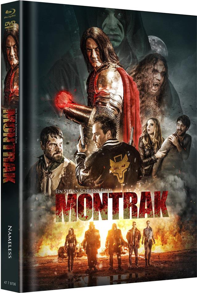 Montrak (2017) (Cover A, Limited Edition, Mediabook, Blu-ray + 2 DVDs + CD)