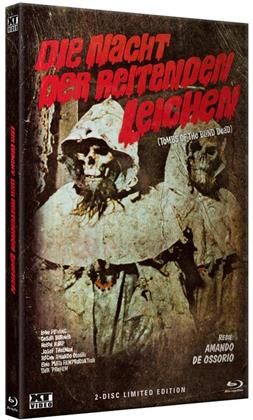 Die Nacht der reitenden Leichen - Tombs of the Blind Dead (1972) (Grosse Hartbox, Cover A, Limited Edition, Blu-ray + DVD)