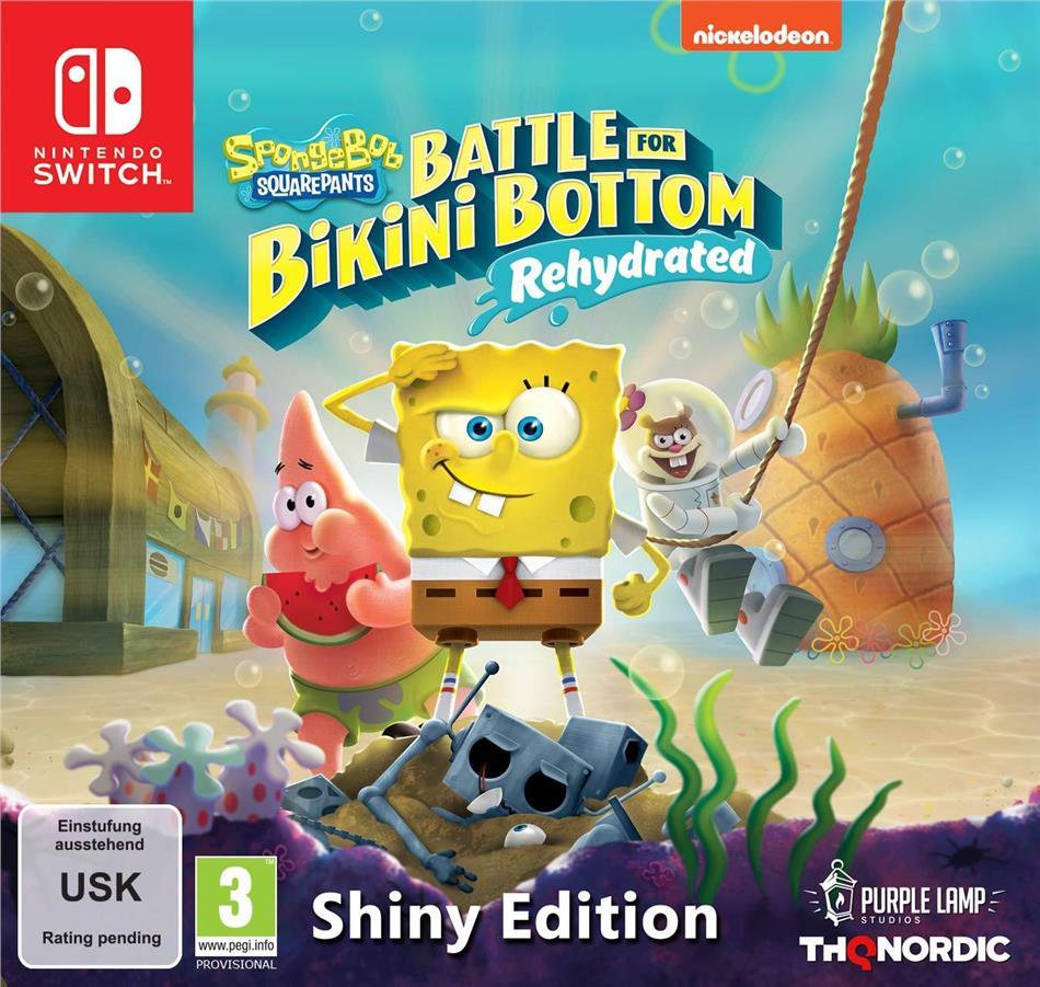 Spongebob SquarePants: Battle for Bikini Bottom - Rehydrated - Shiny Edition
