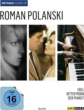 Roman Polanski - Ekel / Bitter Moon / Der Pianist (Arthaus Close-Up, 3 Blu-ray)