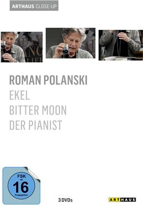 Roman Polanski - Ekel / Bitter Moon / Der Pianist (Arthaus Close-Up, 3 DVD)