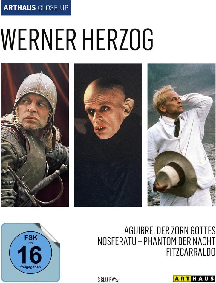 Werner Herzog - Aguirre, der Zorn Gottes / Nosferatu - Phantom der Nacht / Fitzcarraldo (Arthaus Close-Up, 3 Blu-rays)