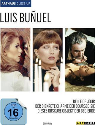 Luis Buñuel - Belle de jour / Der diskrete Charme der Bourgeoisie / Dieses obskure Objekt der Begierde (Arthaus Close-Up, 3 Blu-rays)