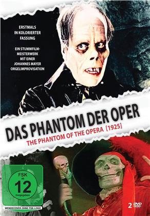 Das Phantom der Oper - Inklusive kolorierte Fassung (1925) (2 DVDs)