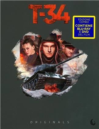 T-34 (2018) (Originals, Blu-ray + DVD)