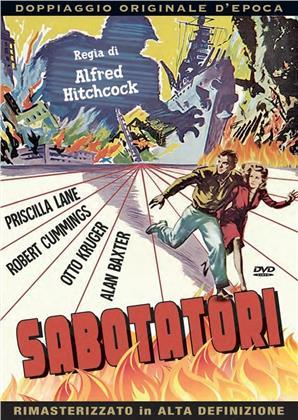 Sabotatori (1942) (Doppiaggio Originale D'epoca, HD-Remastered, n/b, Riedizione)