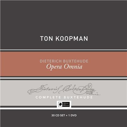 Dietrich Buxtehude (1637-1707) & Ton Koopman - Opera Omnia - Buxtehude Collector's Box (30 CD + DVD)