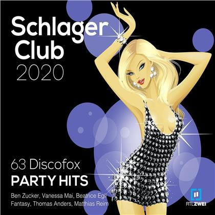 Schlager Club 2020 Vol. 63 Discofox Party Hits: Best of (3 CDs)