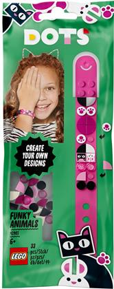 Tiere Armband - Lego Dots, 33 Teile,