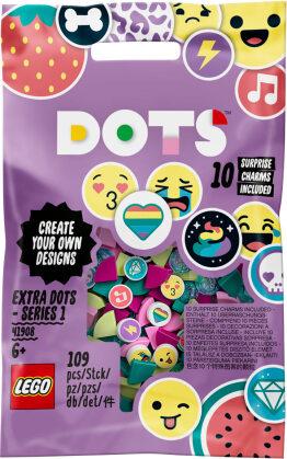 Armband Ergänzungsset Smiley - Lego Dots, 109 Teile,