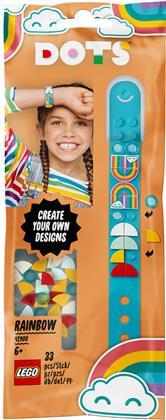 Regenbogen Armband - Lego Dots, 33 Teile,