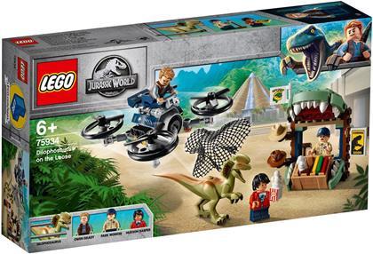 Dilophosaurus auf der Flucht - Lego Jurassic World,