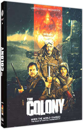 The Colony - Hell Freezes Over (2013) (Cover B, Limited Edition, Mediabook, Blu-ray + DVD)
