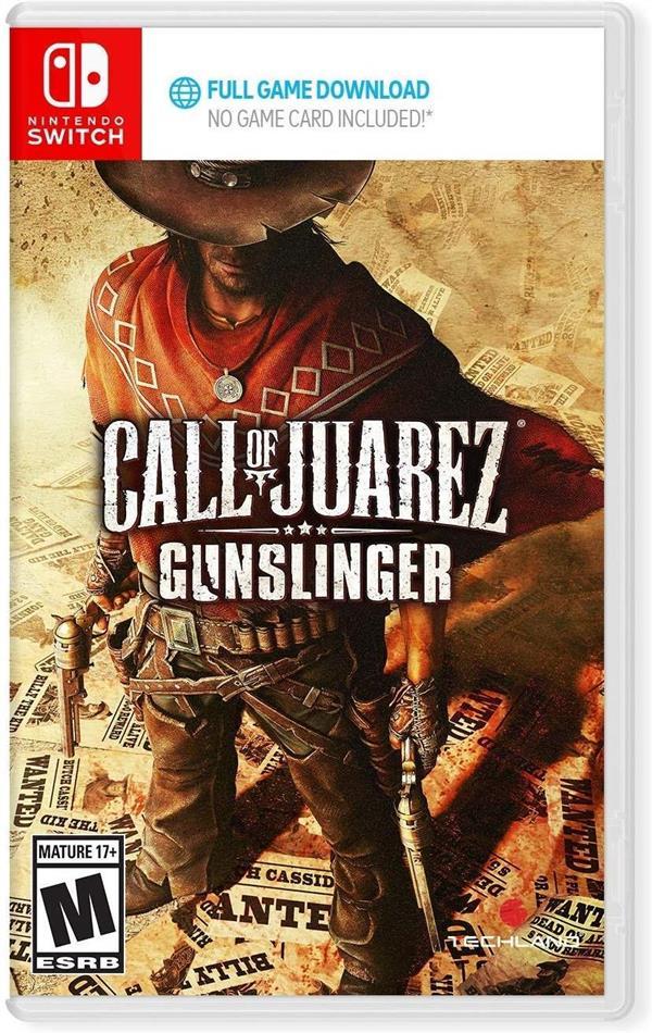 Call Of Juarez - Gunslinger - (Code in a Box)