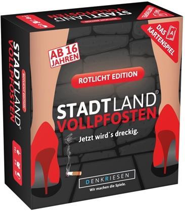 Denkriesen - Stadt Land Vollpfosten® - Das Kartenspiel - Rotlicht Edition (Spiel)