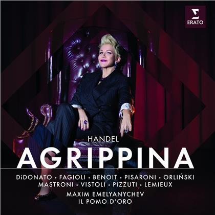 Joyce DiDonato, Jakub Jozef Orlinski, Il Pomo d'Oro, Georg Friedrich Händel (1685-1759) & Maxim Emelianitchev - Agrippina (3 CDs)