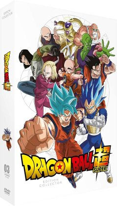 Dragon Ball Super - Box 3 (Coffret format A4, Collector's Edition, 9 DVDs)