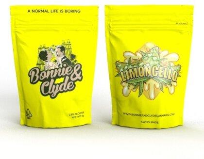 Bonnie & Clyde Limoncello/Ice Cream (5g) - (11% CBD 0.4% THC)