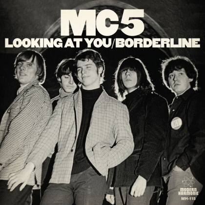 MC5 - Looking At You / Borderline (2019 Reissue, White Vinyl, LP)