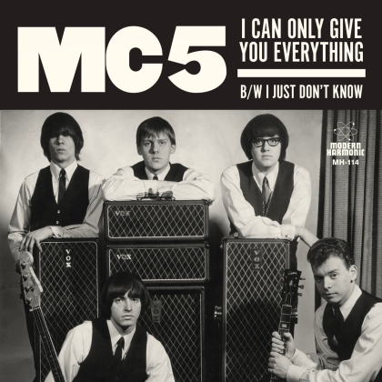 MC5 - I Can Only Give You Everything / I Just Dont Know (2019 Reissue, White Vinyl, LP)