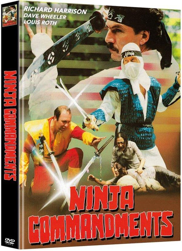 Ninja Commandments (Cover B, Limited Edition, Mediabook, Uncut, 2 DVDs)