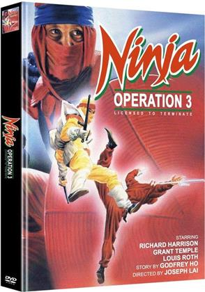 Ninja Operation 3 - Licensed to Terminate (Cover A, Edizione Limitata, Mediabook, Uncut, 2 DVD)