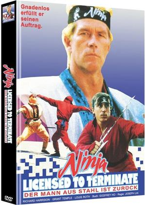 Ninja - Licensed to Terminate (Cover C, Limited Edition, Mediabook, Uncut, 2 DVDs)