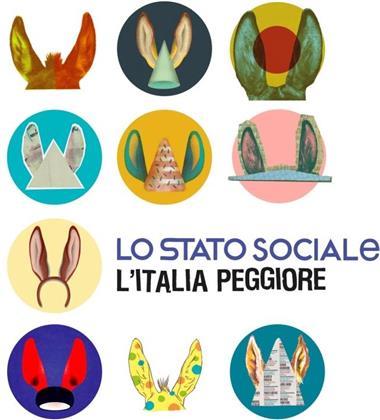 Lo Stato Sociale - L'italia Peggiore (Deluxe Edition, 3 LPs)