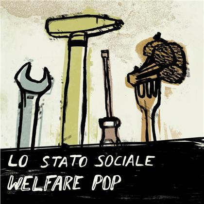 Lo Stato Sociale - Welfare Pop - Re-Release (LP)
