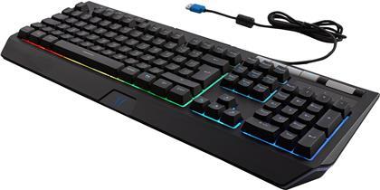 Erazer X81600 - Semimechanical Gaming Keyboard Swiss Layout