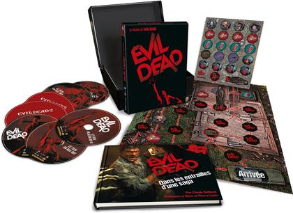 Evil Dead - L'intégrale 1-3 (Limited Collector's Edition, 5 Blu-rays + 4K Ultra HD + Booklet)